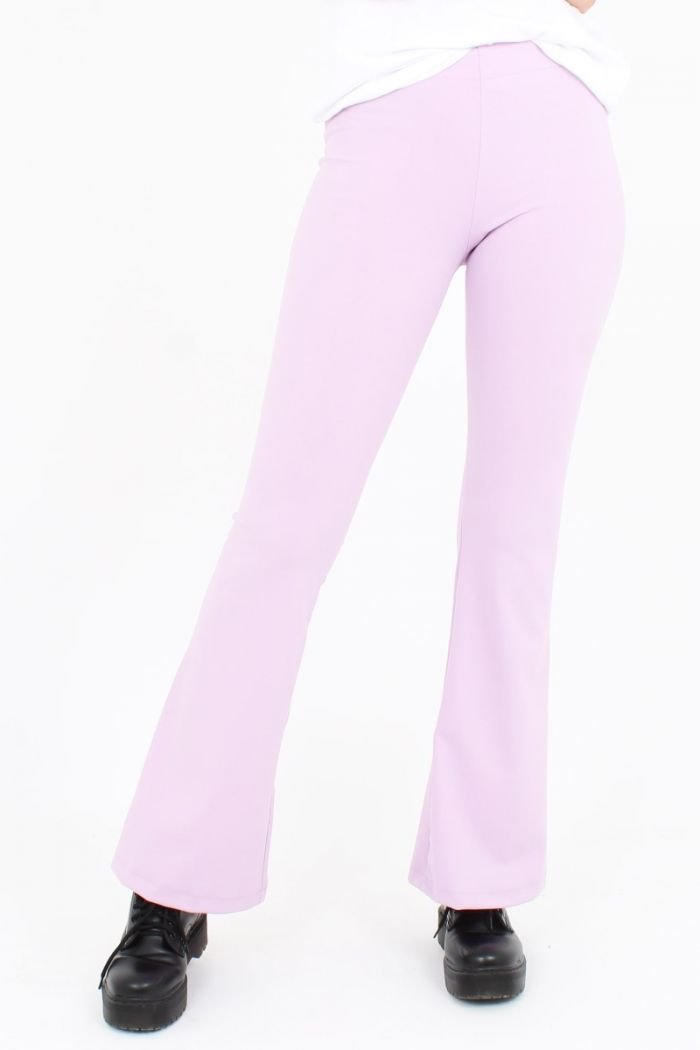 Flared Pants Roze