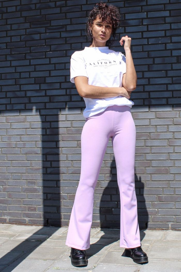 Roze Flared Pants