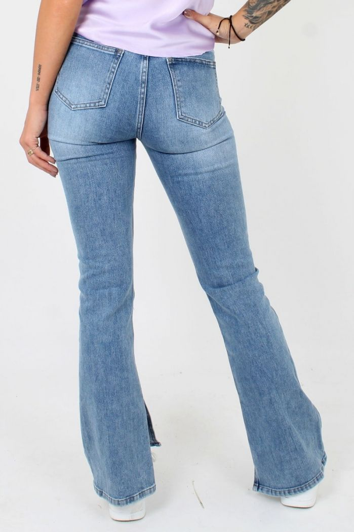 Flared Jeans Queen Hearts