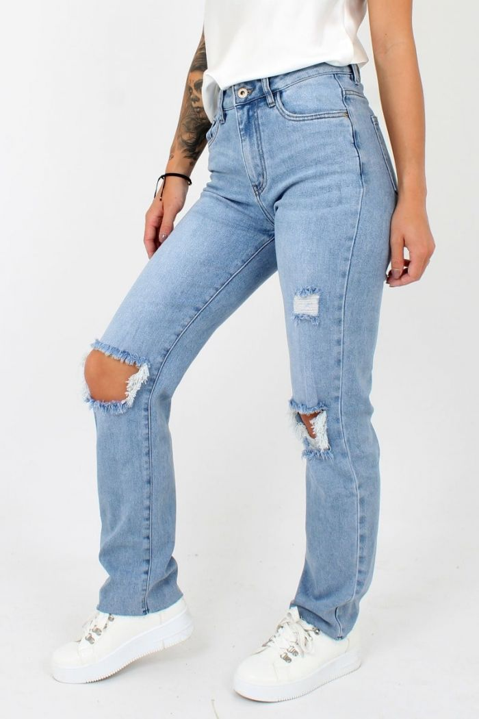Straight Queen Hearts Jeans