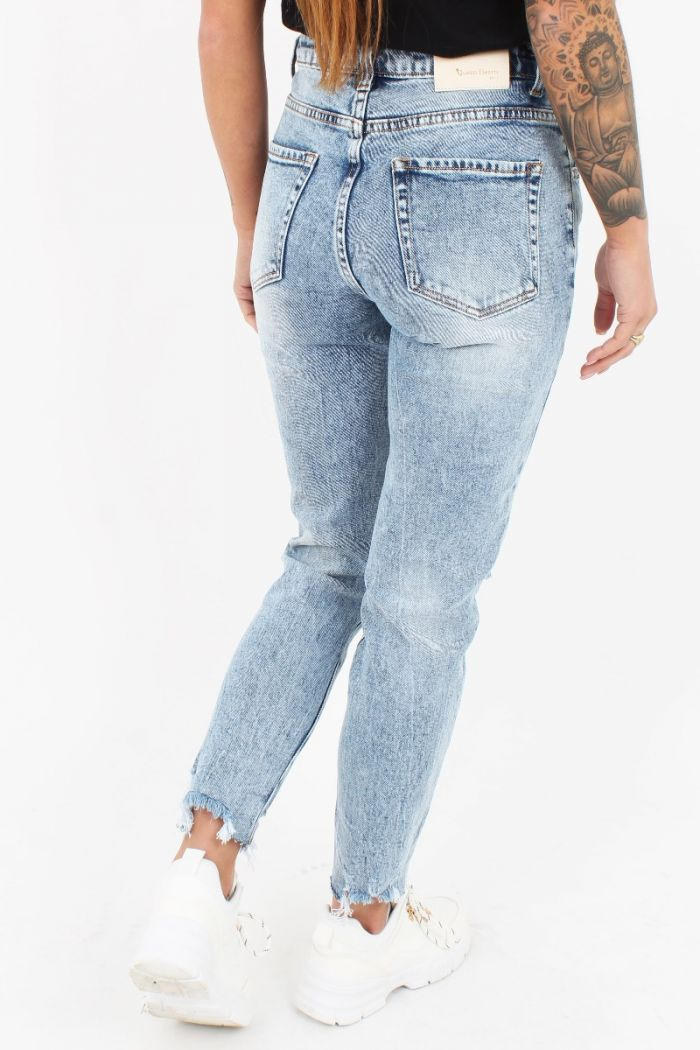 Mom Jeans Queen Hearts W3218-1