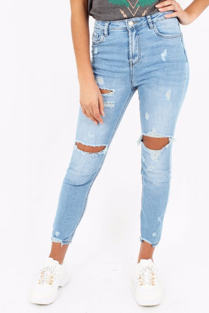 Queen Hearts 760 Mom Jeans