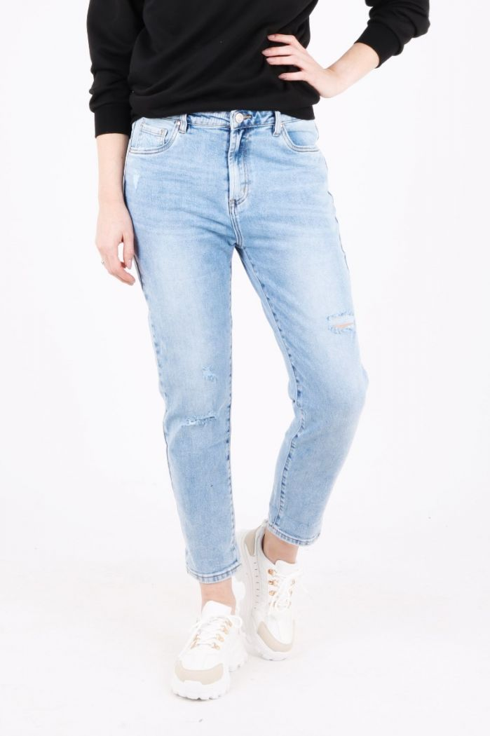 VS Miss mom jeans blauw