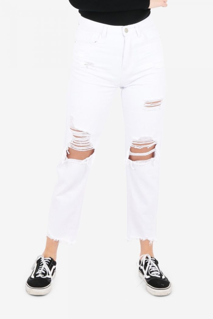 witte mom jeans